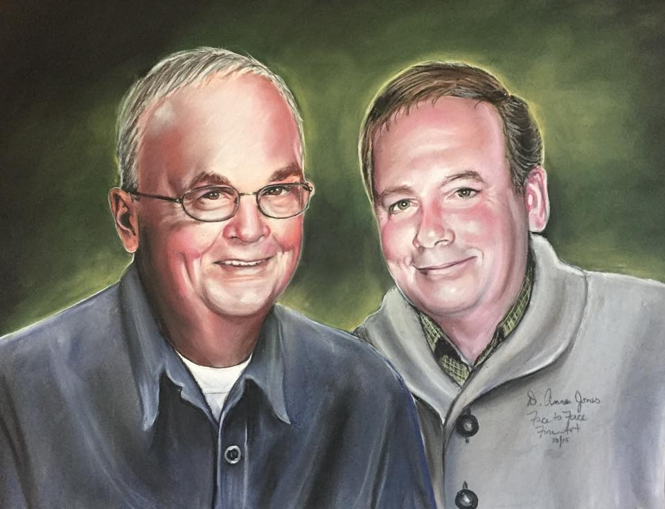 George and Randy Cook