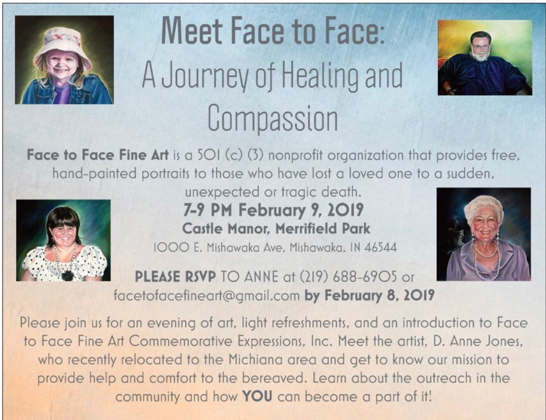 Face to Face event invitation Feb 9, 2019